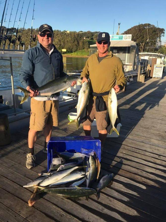 fish caught at Montague island
